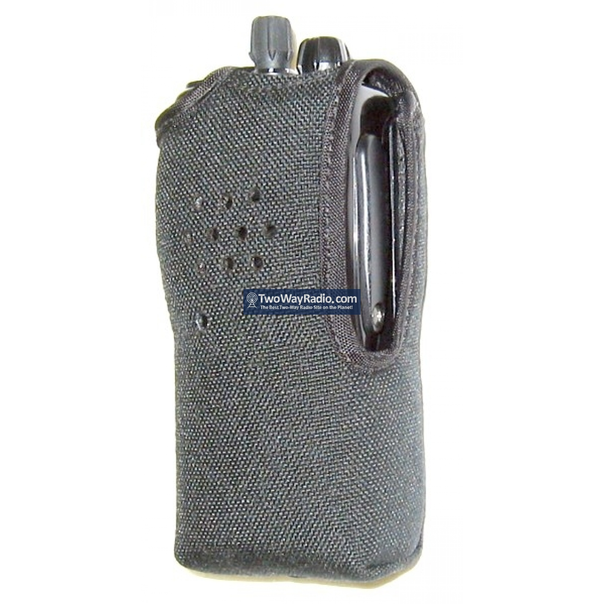 Nylon Carrying Case For Two Way Radio With Metal Belt Clip