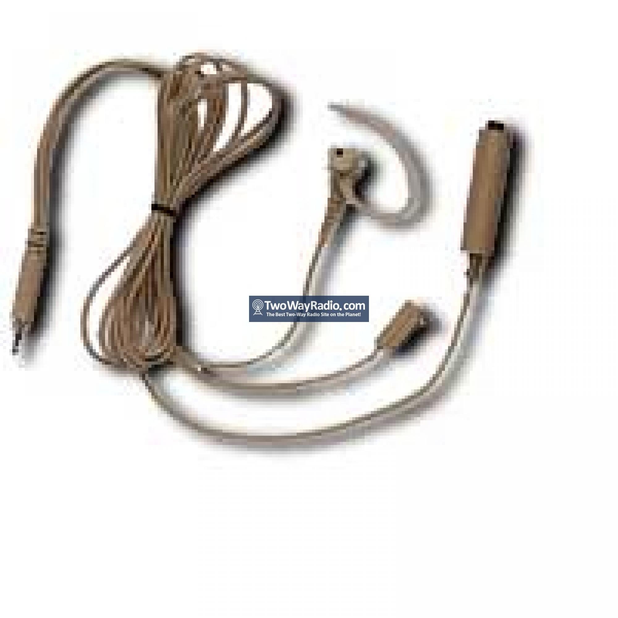 Buy Here Motorola Bdn6670a Earpiece Beige 3 Wire Mic Ptt Twoand Threewire Cables Pttseparate Surveillance Kit 35mm Threaded