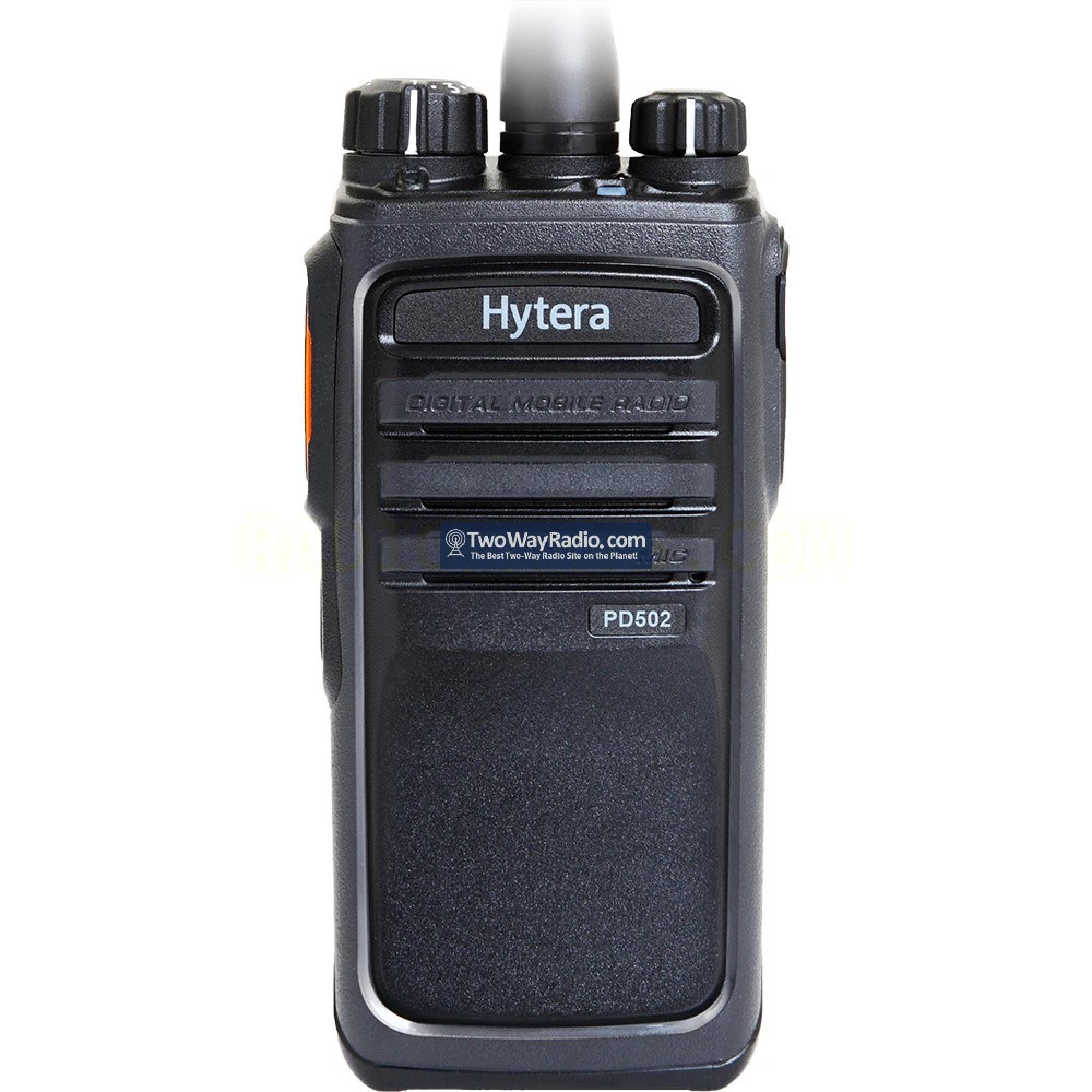 Buy Here | Hytera PD502i V1 Two-Way Radio - 5W, 256C, DMR