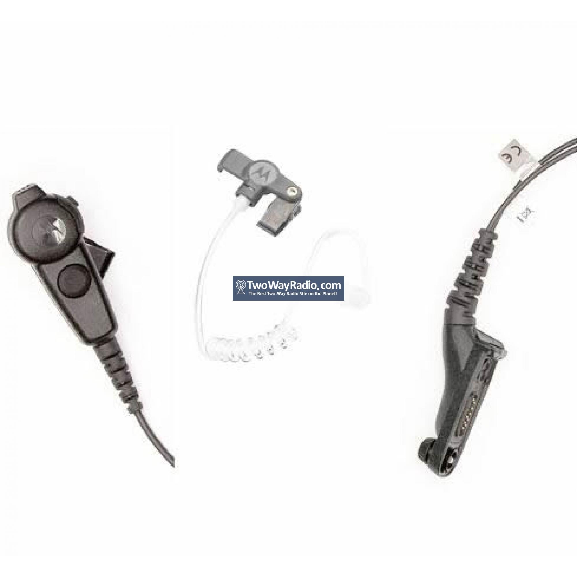 PMLN6129 2-Wire Surveillance Earpiece For MOTOROLA XPR7350e XPR7550e Radio BK