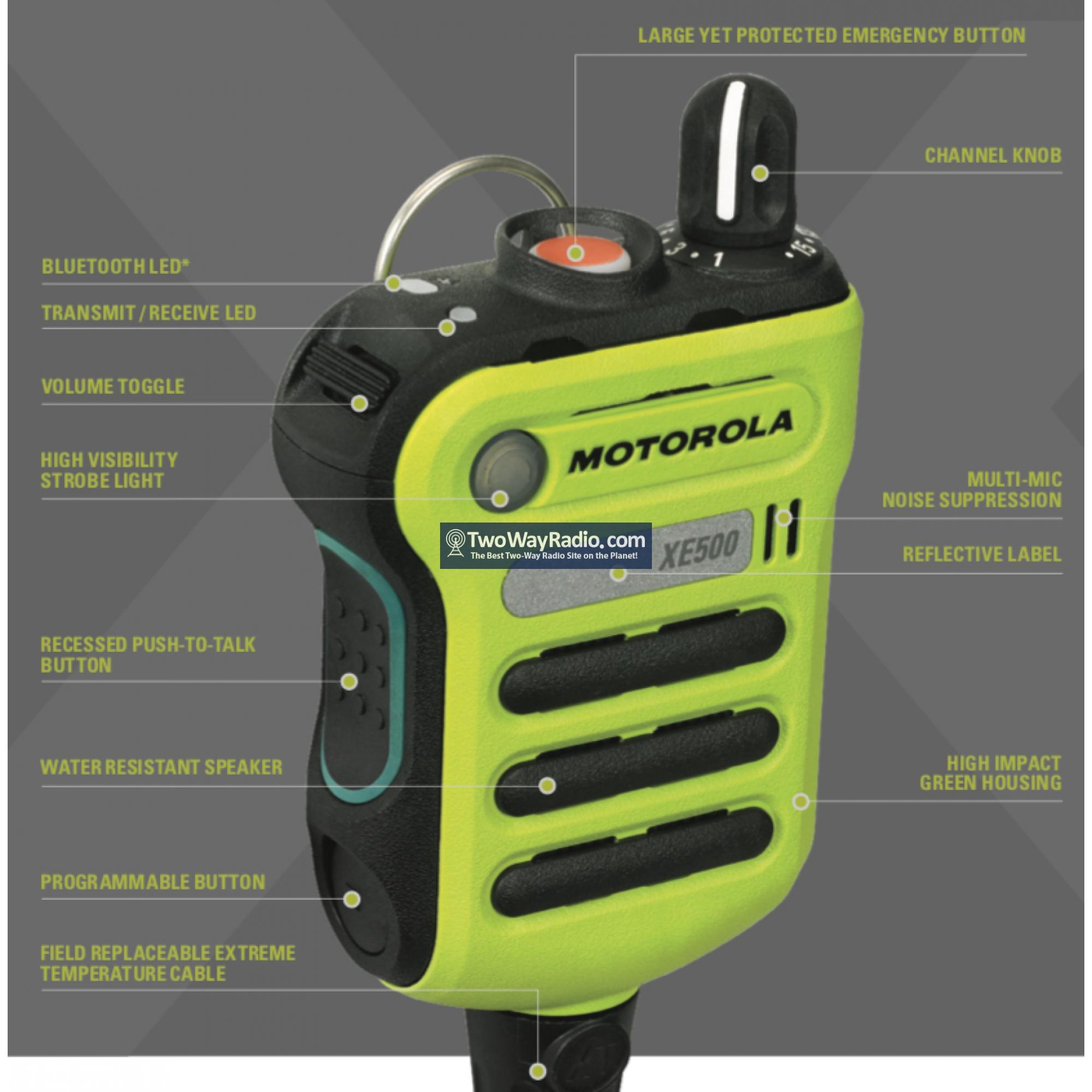 Two-Way Radio Parts & Accessories Speaker Microphone WATERPROOF ...