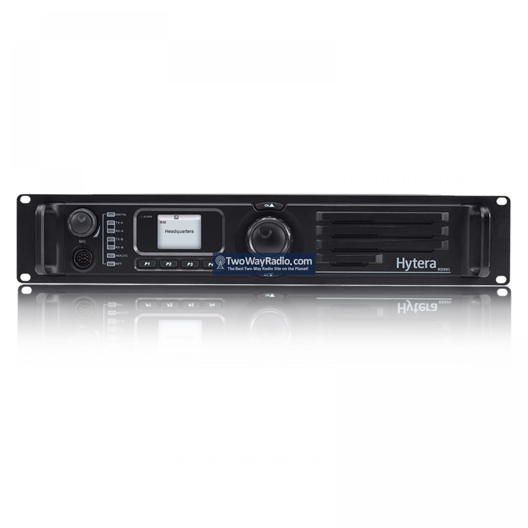 Buy Here | Hytera RD982i U1 Repeater - 2C, 50W Analog/Digital DMR