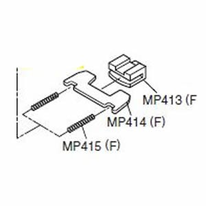Icom F60 Lock Assembly