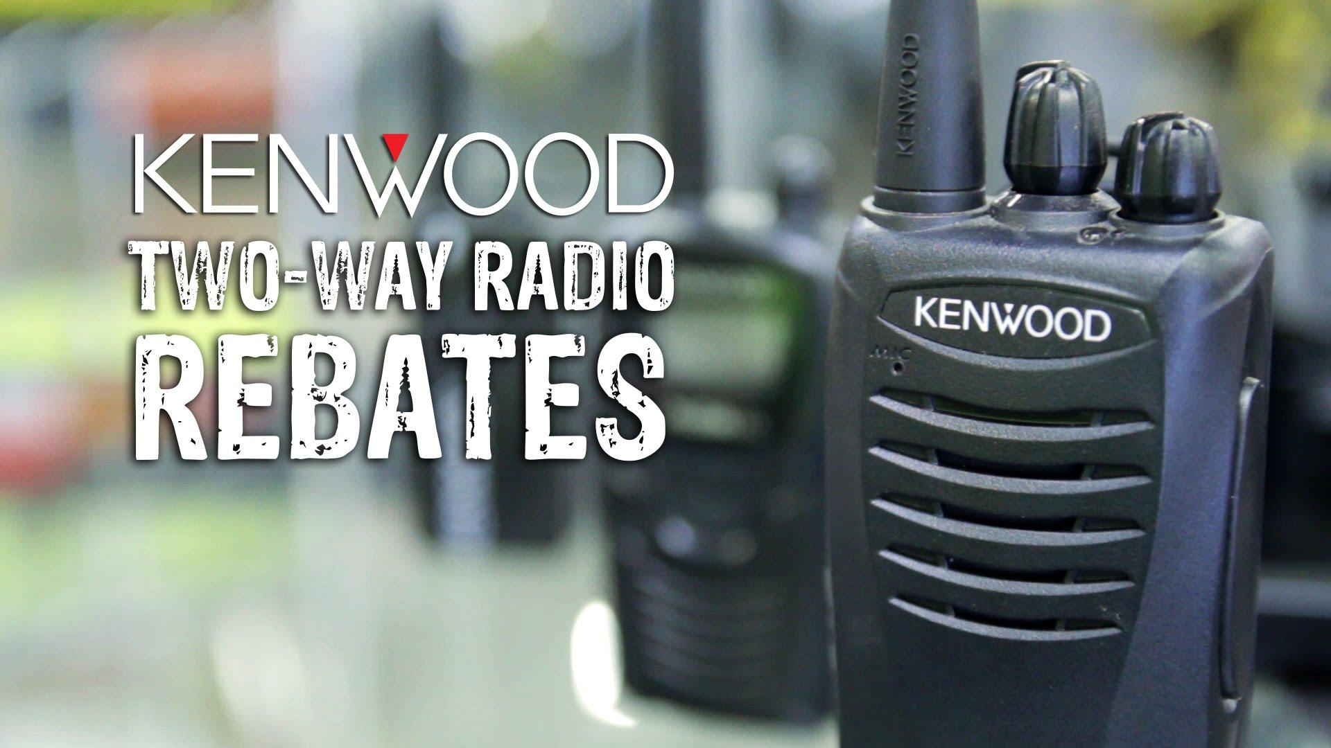 Kenwood Protalk Rebate