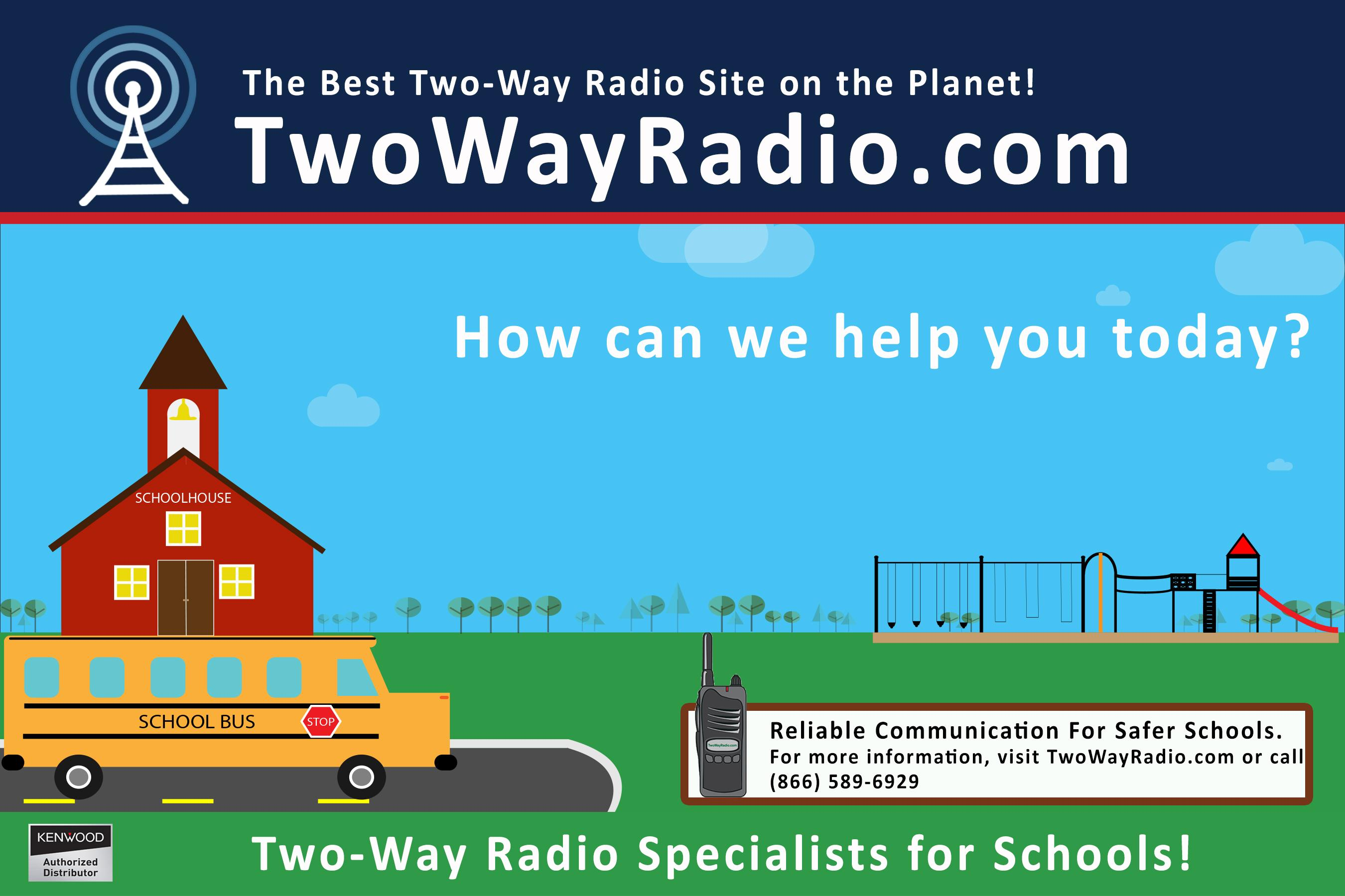 Two-Way Radios for Schools
